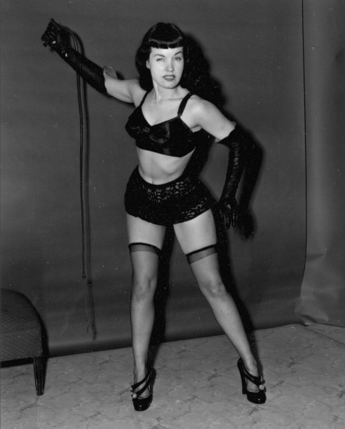 betty page domina